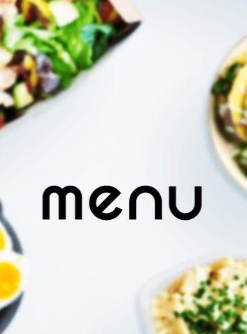 menu(メニュー)の起動画面